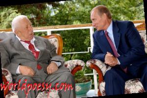 Rasul_Gamzatov_with_Vladimir_Putin