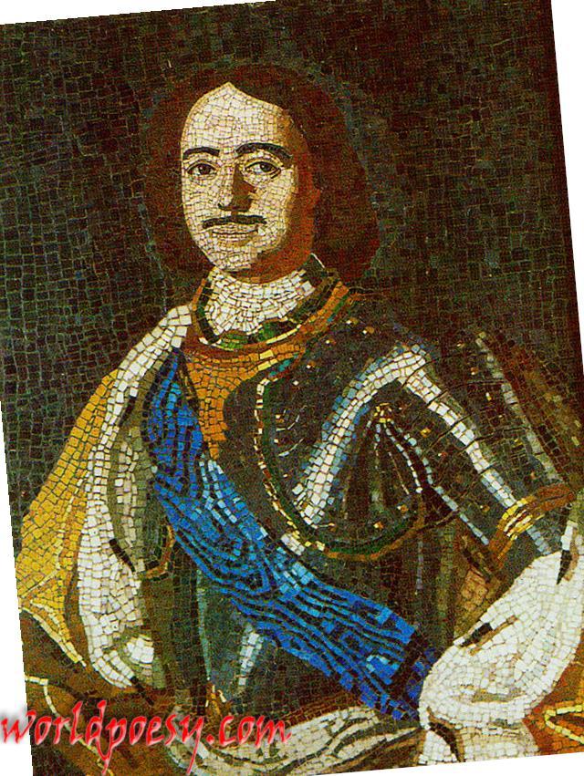 Lomonosov_PeterI_mosaic_1754